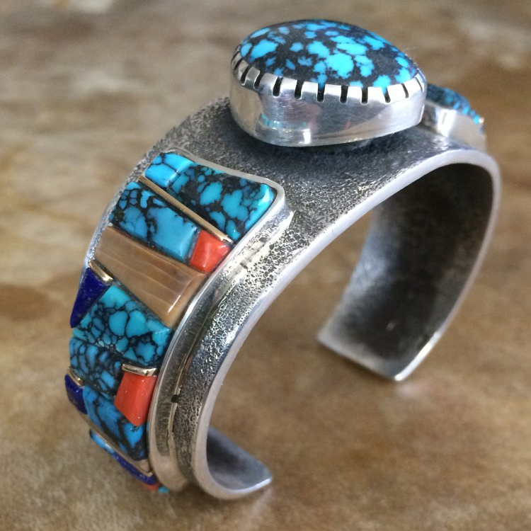 Wes Willie Chinese Turquoise Bracelet